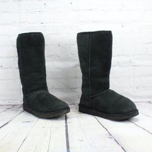 UGG Australia Classic Tall Boots Black Size 10